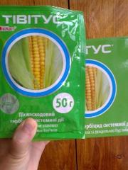 Гербіцид для кукурудзи,  картоплі - Тівітус
